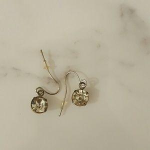 Anthropologie silver earrings